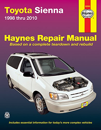 haynes-toyota-sienna-1998-thru-2010-automotive-repair-manual