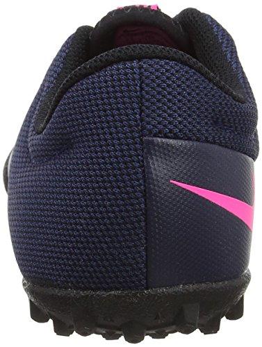 Nike - Jr Mercurialx Pro Tf, Scarpe da calcio Unisex – Bimbi 0-24 Blu (Midnight Navy/midnight Navy-pink Blast)