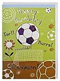 Geburtstagskarte Fußball Champion