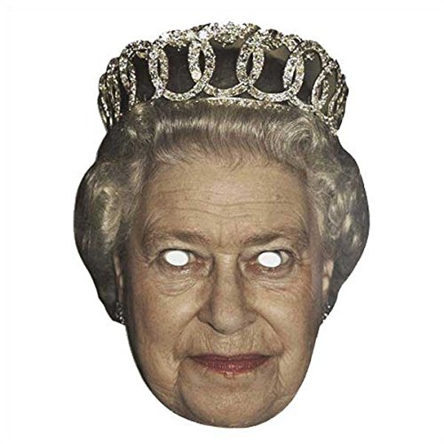 (Berühmte Maske - Celebrity Face Mask - The Queen)