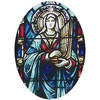 CafePress–St Cecilia–Ovale vacanza decorazione natalizia - Fare Christian Ornamenti