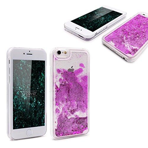 iPhone 6 / 6s Coque, Urcover Liquide Glitter Étoile Case Housse Apple iPhone 6 / 6s Étui Brillant [avec Scintillement] Lilas Colorée Téléphone Cover Lilas