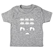 Hippowarehouse Space Invaders Baby Unisex t-Shirt Short Sleeve