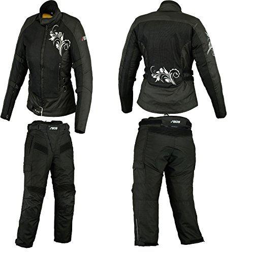 Motorrad kombi, motorraddamen textile kombi, M - Jacke Off-road Motorrad