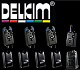 Delkim TXi Plus Bissanzeiger Set + RX Receiver Plus Pro 6 Led