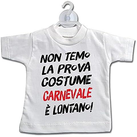 Mini T-Shirt Prova costume mare carnevale - Divertenti - Bianca