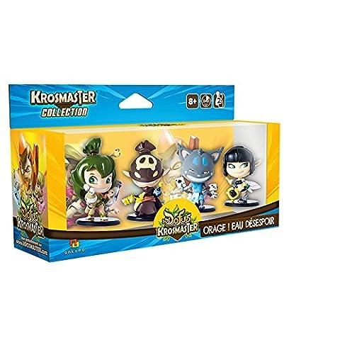 KROSMASTER Collection - Set#03 - Pack de 4 figurines Orage! Eau Désespoir