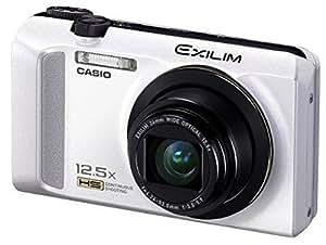 Casio Exilim EX-ZR200 Digitalkamera (16 Megapixel, 12-fach opt. Zoom, 7,6 cm (3 Zoll) Display, bildstabilisiert) weiß