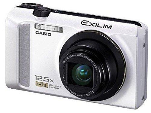 Casio Exilim EX-ZR200 Digitalkamera (16 Megapixel, 12-fach opt. Zoom, 7,6 cm (3 Zoll) Display, bildstabilisiert) weiß Casio Exilim
