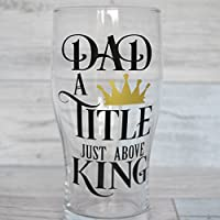 Pint Glass, Dad Gift, Best Dad, Beer Glass, Beer Lover, Beer Gift, Personalized, Best Dad, Greatest Dad