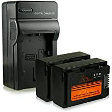 Caricatore + 2x ExtremeWolf Batteria IA-BP210E per Samsung HMX-F80 | HMX-F90 | HMX-F91 | HMX-F800 | HMX-F810 | HMX-F900 | HMX-F910 | HMX-F920 | HMX-H200 | SMX-F400 | SMX-F500 | SMX-F530 | SMX-F700