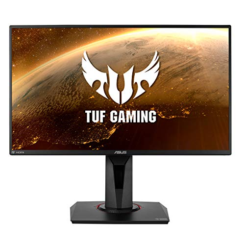 ASUS VG259Q - Monitor de Gaming 25 pulgadas (24,5 visibles, Full HD 1920x1080, 144 Hz, IPS, Extreme Low Motion Blur, Adaptive-Sync, 1 ms MPRT)