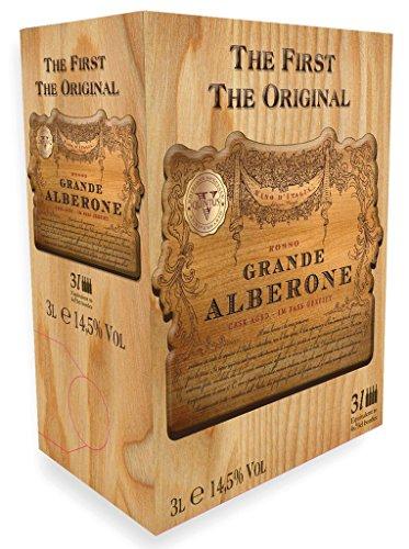 Grande Alberone - Rosso Vino Italia Rotweincuvée trocken Bag In Box Eichenfassgereifter Rotwein für Genießer - 3,0l