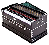 #9: Laying Style Best Harmonium 9 Stopper, Chudidaar Bellow, 42 Key, Two Reed(Bass-Male),3 1/2 Octave,Kapler, Harmonium With Cover By Bajaj Collection
