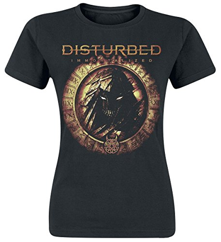 Disturbed Immortalized T-shirt Femme noir Noir