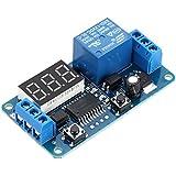 KKmoon - Temporizador de retardo multifunción - Módulo de relé de 12V - Pantalla ...