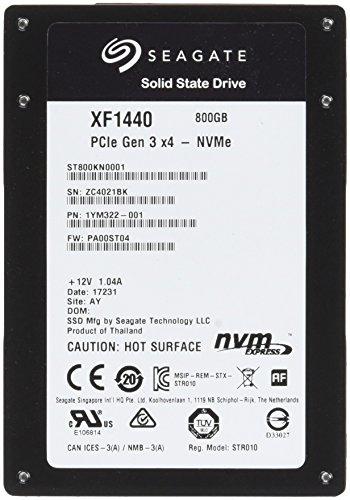 SEAGATE Nytro SSD 800GB 6,4cm 2,5Zoll PCIe Gen3Ã―4 NVMe 1.2a
