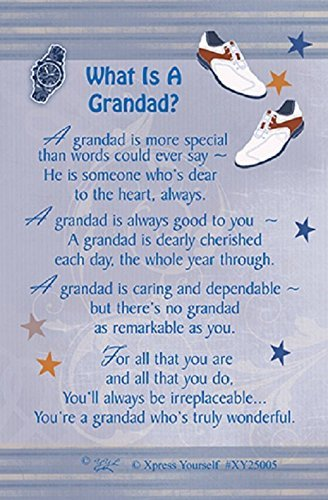 Xpress Yourself Grandad Gift Card - What Is A Grandad?