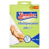 Spontex Multi-Purpose Disposable Gloves - 100 pack