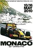 Monte Carlo Monaco grand prix grosser preis 2010 schild aus blech, metal sign, tin sign