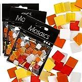 Creativ Company Großpack Mosaiksteine, 75g, Rot-Orange