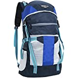 "POLE STAR ""TREK 44 Lt Blue grey Rucksack I Hiking backpack"