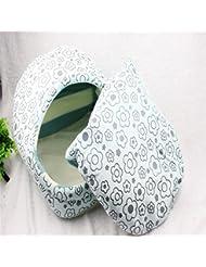 OOFWY Productos para Mascotas Pet invierno caliente Hermosa Casa Nido , blue plum m