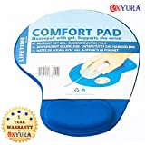 #2: Oxyura™ Wrist Comfort Mouse Pad For PC/Notebook/Laptop Blue