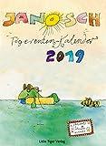 Janoschs Tigerentenkalender 2019: Mit Adventskalender!