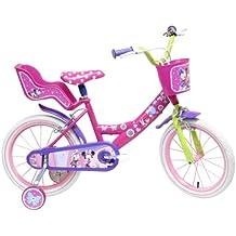 Bicicleta 16 pulgadas para 5-8 años de Minnie Mouse