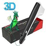 3D Stift, Tecboss 3D Drucker Stift, 3D Druckstift mit 1.75 mm PLA Filament für Kinder Erwachsene, Kompatibel mit PLA- und PCL-Modus