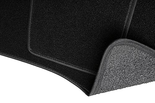 Fußmatten - 4-teilig - schwarz - Automatten Velours - 5902311237753 2012 Hyundai Elantra Fußmatten