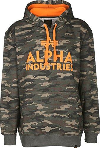 Alpha Industries Herren Sweatshirt oliv M