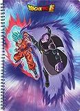 Clairefontaine 812773C - Un Cahier à spirale Dragon Ball Super 240 pages 21x29,7 cm 90g lignées avec 3 intercalaires, couverture visuel aléatoire