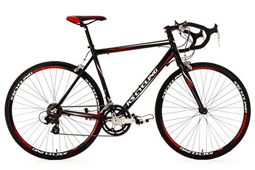 Rennrad 28\'\' Euphoria schwarz Alu-Rahmen RH 53 cm KS Cycling