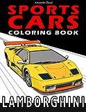Sports Cars Coloring Book: Lamborghini