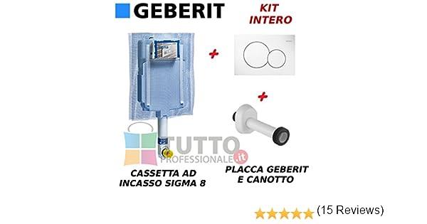 Geberit 110.770.00.5 Sistema Insonorizzante per WC Sospeso Grigio