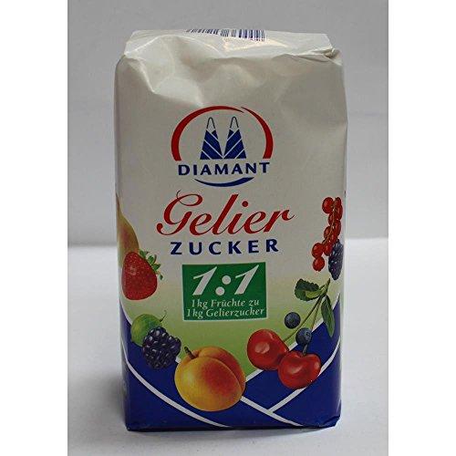 Kölner Zucker Gelierzucker 1:1 1kg (Pektin Marmelade Obst Für)