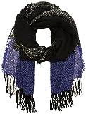 ICHI Damen Schal A FAISA SC, Mehrfarbig (Deep Blue 14225), One Size