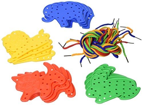 play-discover-animal-lacing-shapes-4-each-of-4-designs-with-16-laces-pack-of-16