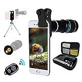 CPL Telefono Cellulare per iPhone 7 6 6S se /& Most Smartphones Lente grandangolare 0.35/x TECHO 5/in 1/Telecamera HD Lente Macro 2/x Zoom teleobiettivo Obiettivo fisheye