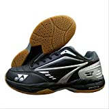 Yonex ACE Tough Badminton Shoes Court, 7UK(Black, Grey and Silver)