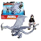 Dragons - Action Spiel Set - Drachen Windfang & Reiter Heidrun