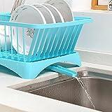 Der Küchenschrank Plastik, Das Gestell Mit Decken Und Geschirr Kasten Wasser Schale Geschirrständer Rack,Weiße