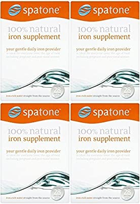 (4 PACK) - Spatone - Spatone 100% Natural Iron Sup | 28 sachet | 4 PACK BUNDLE from SPATONE IRON PLUS