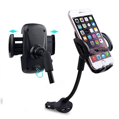 Handyhalterung Auto KFZ Halterung 360°drehbar Handyhalter Universal Autohalterung Smartphones Halter für iPhone 7/6/6plus/5 Samsung S7/S6/S5/S4 Motorola BlackBerry LG HTC und GPS Geräte