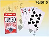 JUMBO Playing cards (plastic coated)