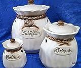 Kartoffeltopf Zwiebeltopf Knoblauchtopf Keramik Jopeko Germany Kartoffelsack