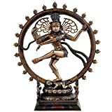 Collectible India Nataraja Shiva Idol Sc...