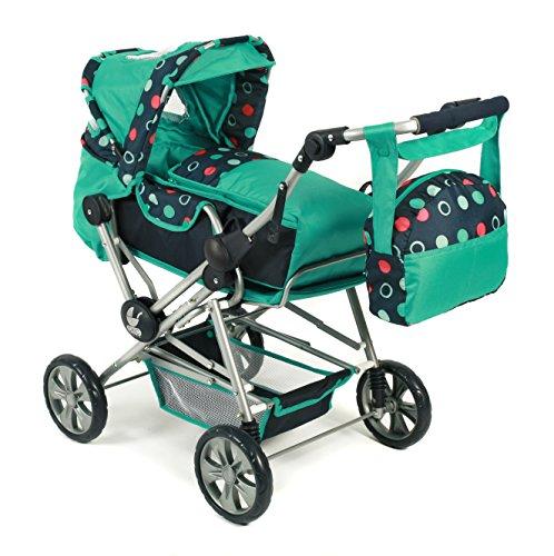 chic-2000-bayer-roadstar-combi-dolls-pram-menta